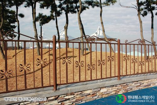 개나리휀스-펜스-휀스종류-철망-울타리-팬스-담장-fence-현대휀스개발