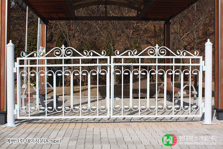 데이지문-쌍문-Atype-휀스종류-철망-울타리-팬스-담장-fence-현대휀스개발