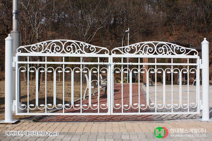 데이지문-쌍문-Btype-휀스종류-철망-울타리-팬스-담장-fence-현대휀스개발