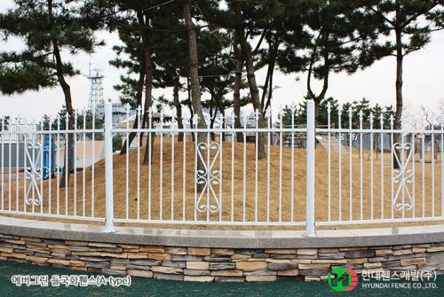 들국화휀스-펜스-휀스종류-철망-울타리-팬스-담장-fence-현대휀스개발
