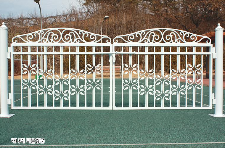 디자인대문-개나리-더블쌍문-휀스종류-철망-울타리-팬스-담장-fence-현대휀스개발