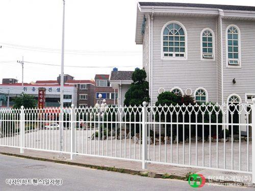 디자인하트휀스-펜스-일자형-휀스종류-철망-울타리-팬스-담장-fence-현대휀스개발-1
