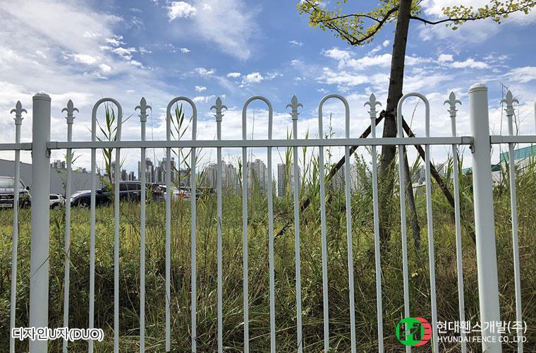 디자인U자휀스-펜스-DUO-공단-휀스종류-철망-울타리-팬스-담장-fence-현대휀스개발-1