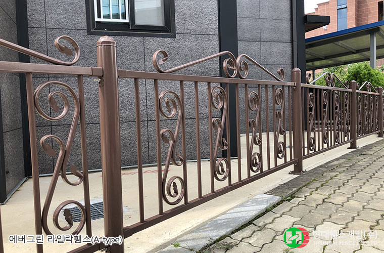 라일락휀스-펜스-Atype-휀스종류-철망-울타리-팬스-담장-fence-현대휀스개발-1