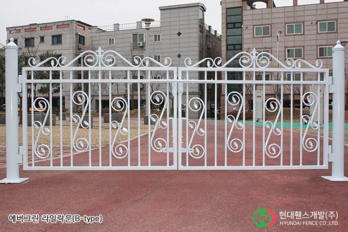 라일락휀스-펜스-Btype-휀스종류-철망-울타리-팬스-담장-fence-현대휀스개발