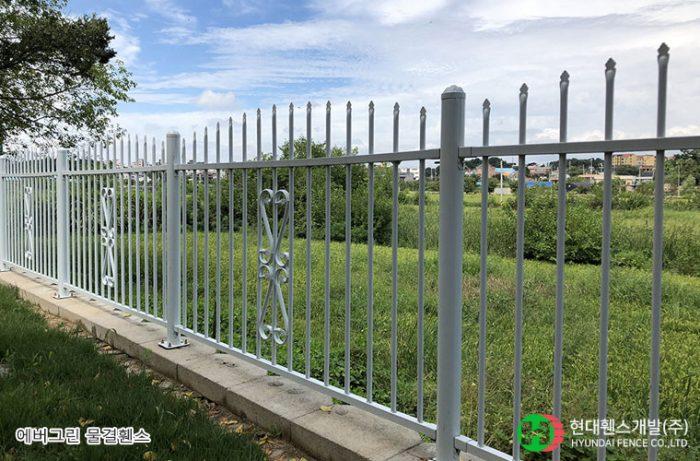물결휀스-펜스-휀스종류-철망-울타리-팬스-담장-fence-현대휀스개발-2