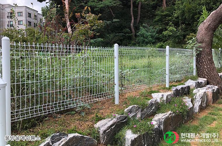 물방울메쉬-주택-휀스종류-철망-울타리-팬스-담장-fence-현대휀스개발-1