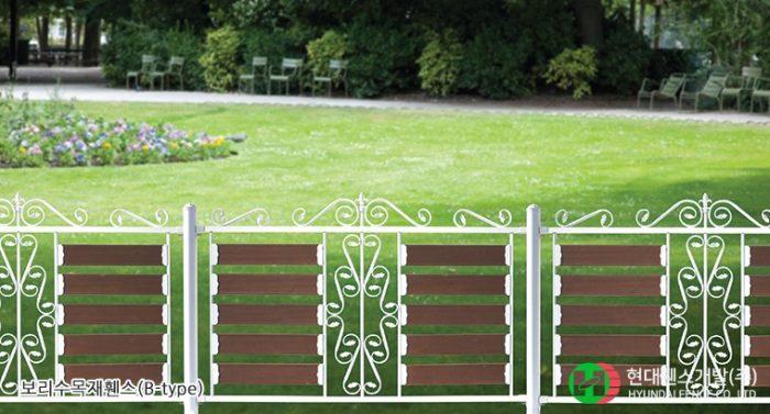 보리수휀스-펜스-Btype-휀스종류-철망-울타리-팬스-담장-fence-현대휀스개발-2
