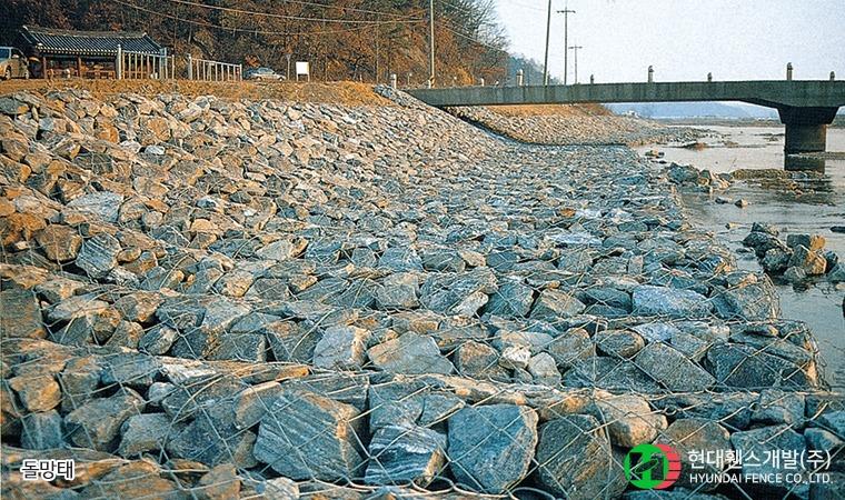 육각매트리스-사각매트리스-돌망태-휀스종류-철망-울타리-팬스-담장-fence-현대휀스개발-2