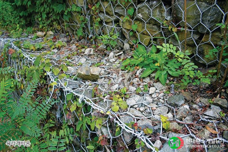육각매트리스-사각매트리스-육각개비온-휀스종류-철망-울타리-팬스-담장-fence-현대휀스개발-2