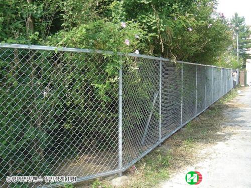 일반경계휀스-펜스-I형-아연망-휀스종류-철망-울타리-팬스-담장-fence-현대휀스개발