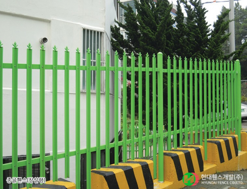 골휀스-펜스-창살형-창살촉-아치형-휀스종류-철망-울타리-팬스-담장-fence-현대휀스개발-2