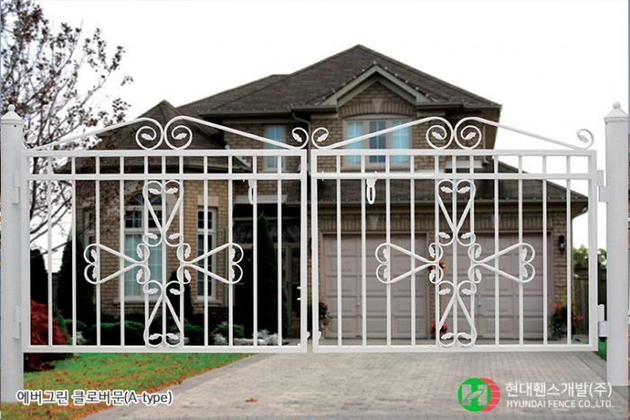 클로버문-쌍문-휀스종류-철망-울타리-팬스-담장-fence-현대휀스개발