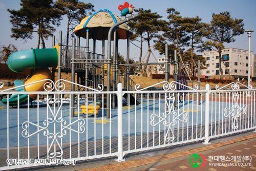 클로버휀스-펜스-휀스종류-철망-울타리-팬스-담장-fence-현대휀스개발-1