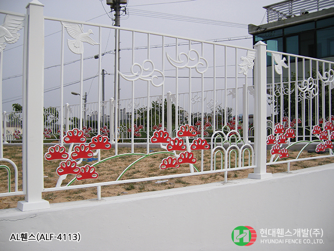 AL휀스-펜스-ALF-4113-휀스종류-철망-울타리-팬스-담장-fence-현대휀스개발