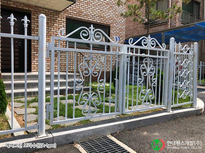 보리수문-쌍문-Atype-주택-휀스종류-철망-울타리-팬스-담장-fence-현대휀스개발
