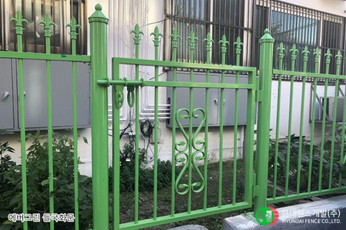 들국화문,문,ctype,일자형,휀스종류,철망,울타리,팬스,담장,fence,현대휀스개발,휀스,펜스